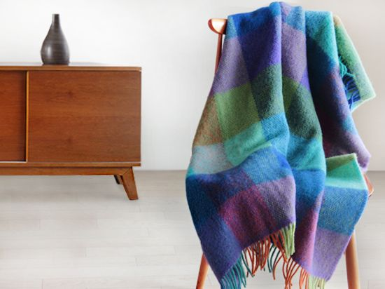 Roros Tweed-Brostein Throw Blanket - Scandinavian Design