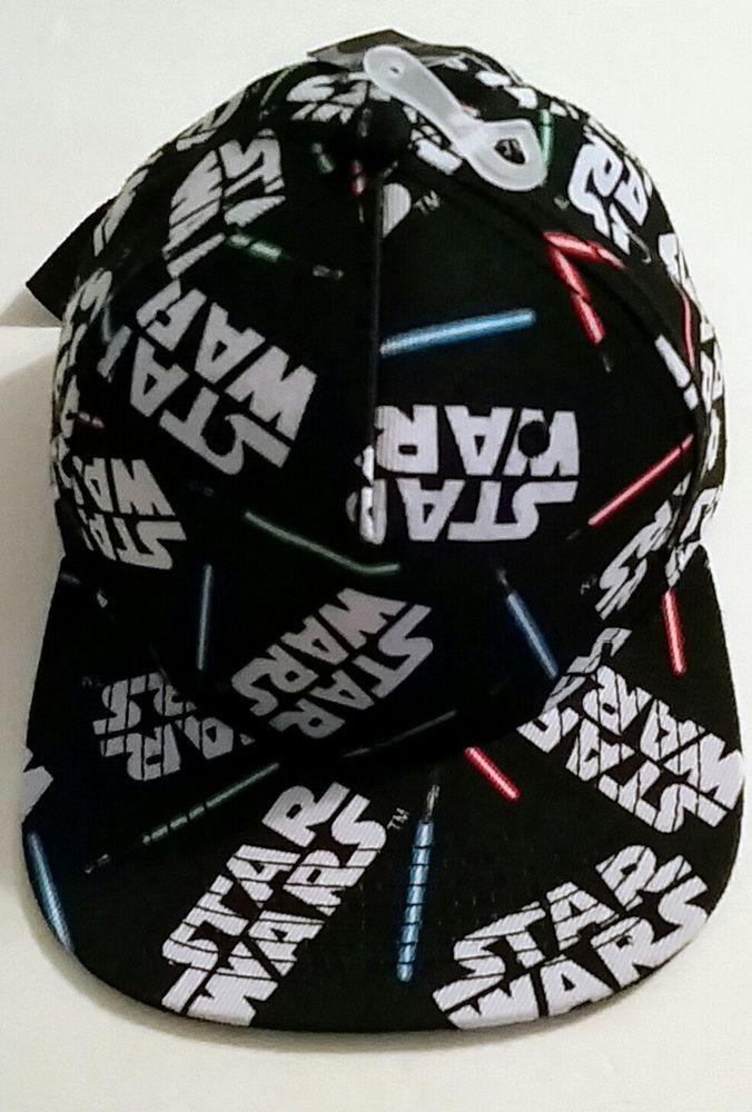 Star Wars Lightsaber Design Snapback Hat New #Snapback #BaseballCap