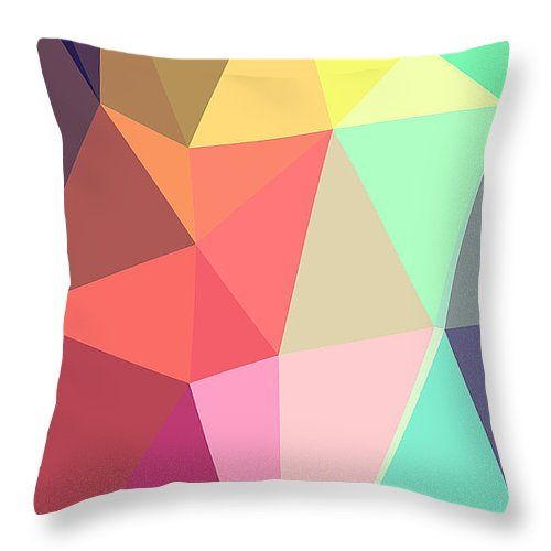 "Peace Throw Pillow 14"" x 14"""