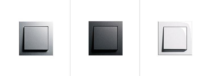 GIRA E2 Schalterprogramm - Farbauswahl. Passend und individuell für alle Räume und Wandfarben.