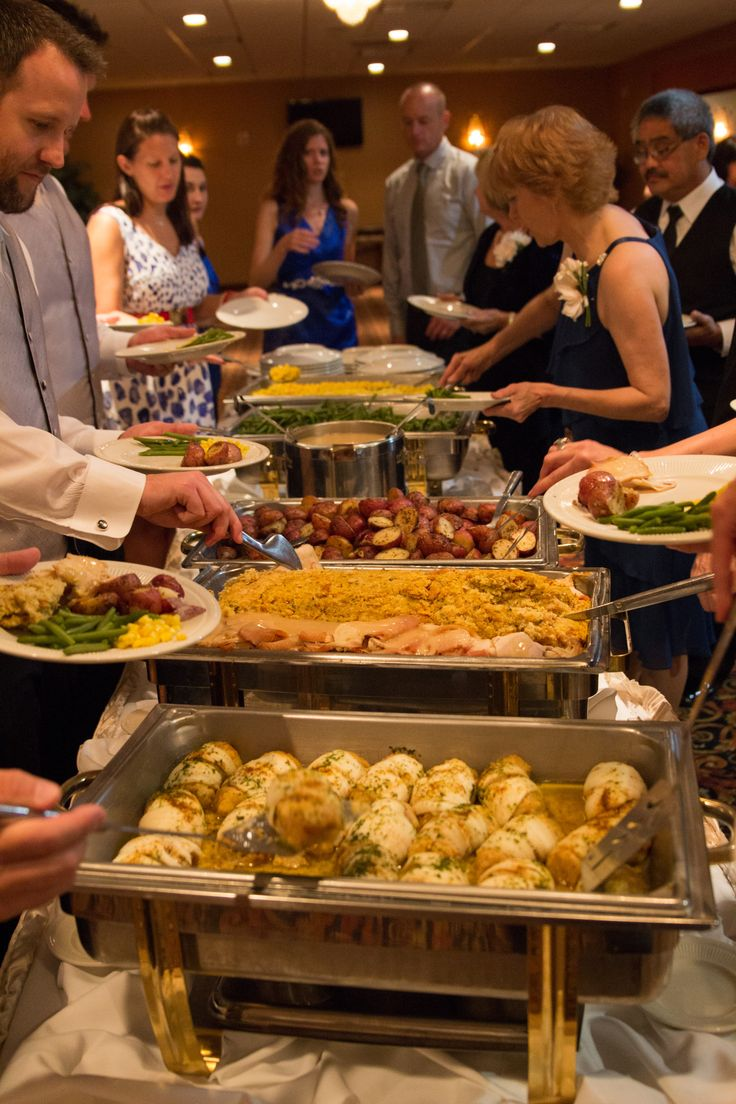 Wedding Reception FOOD!  If you are on a budget (or not) find someone that can sponsor your wedding through MWR.  We went to so many caterers and were tired of hearing all we could afford was a cash bar (no free alcohol) plus chips and dip.  Seriously that was one quote. On base, we got THIS through MWR.  Even a carving station, a couple kegs, wine for everyone plus additional cash bar for liquor.  They cut our cake too.  The food was AMAZING.