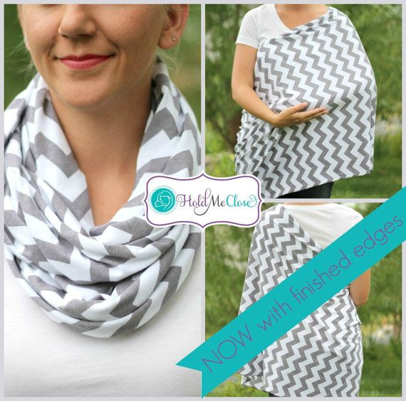 Tired of using those uncomfortable, hard to use nursing covers? Well here is your stylish solution, the Hold Me Close Nursing Scarf™! This stylish and multifunctional infinity scarf quickly and easily converts into a convenient nursing cover perfect for mothers on the go! The Hold Me Close Nursing Scarf™ easily unwraps to cover not only you and baby while nursing, but also your back and sides too! It provides more coverage than the average nursing cover, while still allowing you to interact…