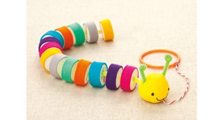 手作りのおもちゃが簡単にできる。乳幼児向けにこんなにかわいく。