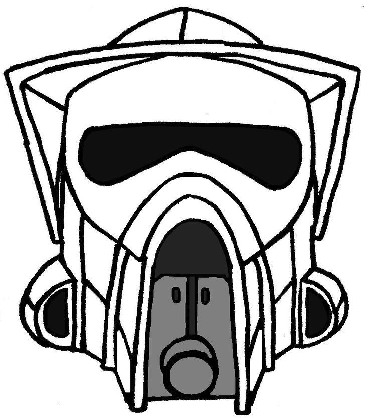 Clone Trooper Helmet Vector 7 best Star Wars stuff...