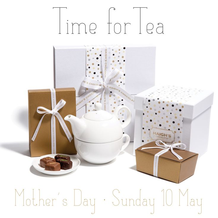 Our delightful Mother's Day collection is now available instore, online and mobile. #gift #mothersday #chocolate #TimeForTea