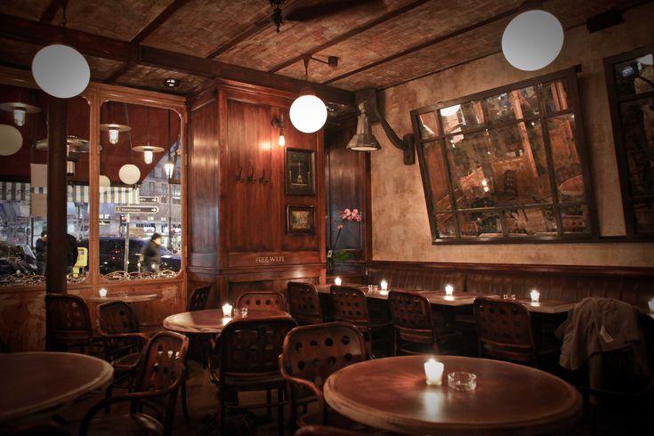 Intérieur Salle - Petit Poucet Paris #bar #brasserie #paris ...