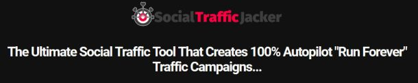 Social Traffic Jacker Software By Anthony Hayes is Best Software To Use Other People's Content To Get 100% Free Traffic, Gain Authority And Generating Such Traffic That Can Become The High-Value Conversion On Full Autopilot With Campaigns That Run Forever In Just 3 Minutes. Social Traffic Jacker is created by Anthony Hayes and Andrew Darius and very recommended for all online marketers.  #traffic #internetmarketing #marketer #campaign #socialtrafficjacker #jacker #socialtraffic