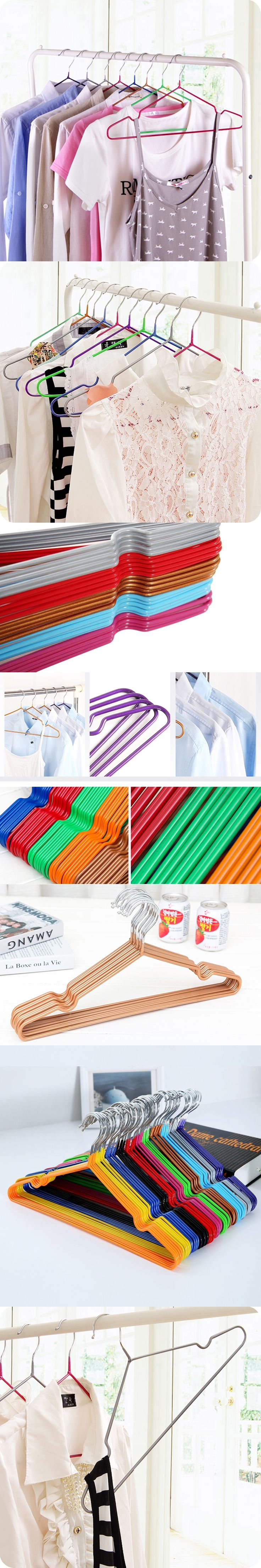1pcs EZLIFE Durable Hanger Anti-skid Plastic Clothes Hangers For Clothes Drying Clothes Rack Adult And Children Hanger