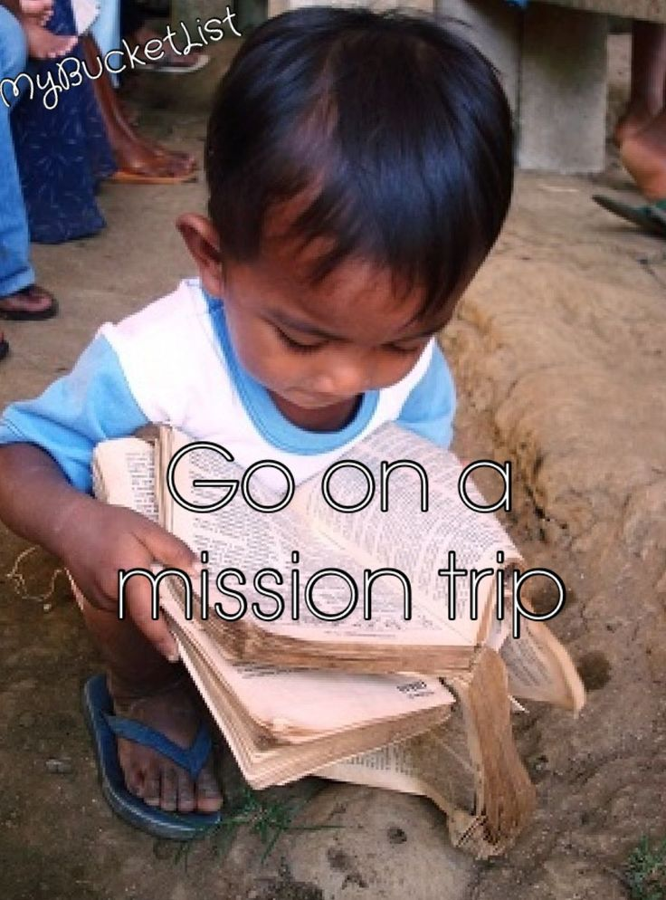 Go on a Missions Trip to South Africa, Romania and France.