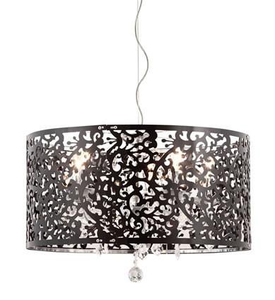 Zuo Modern Nebula Ceiling Lamp Black.  www.ModernistLighting.com