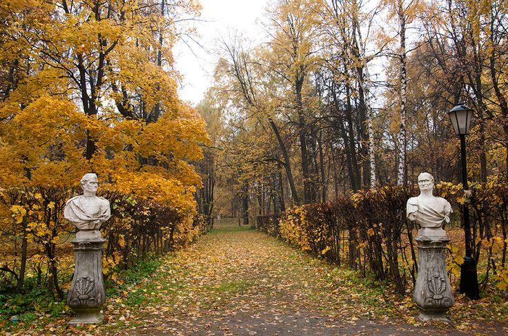 Russia, Moscow, Kuskovo park, 10/12/2014
