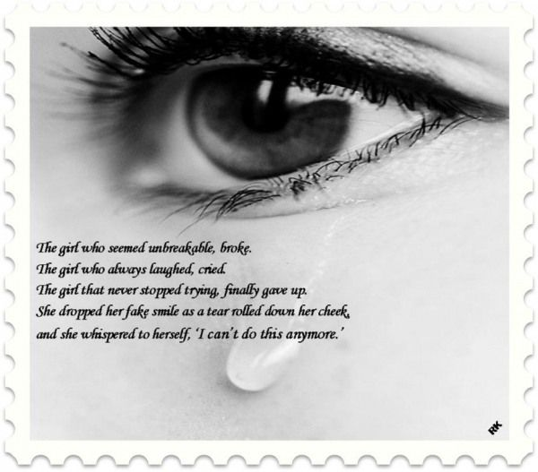 Heartbroken Images Quotes: Heart Broken: Sad Quotes:- I Can't Do
