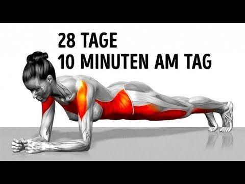 7 einfache Übungen, die dich in 4 Wochen in Form …