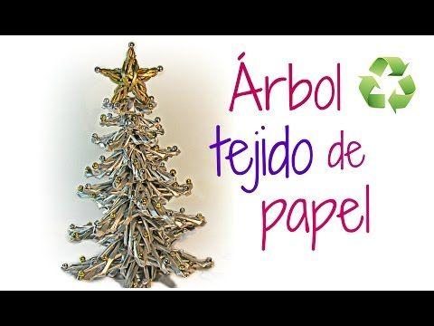 Árbol de Navidad con estrellas de papel