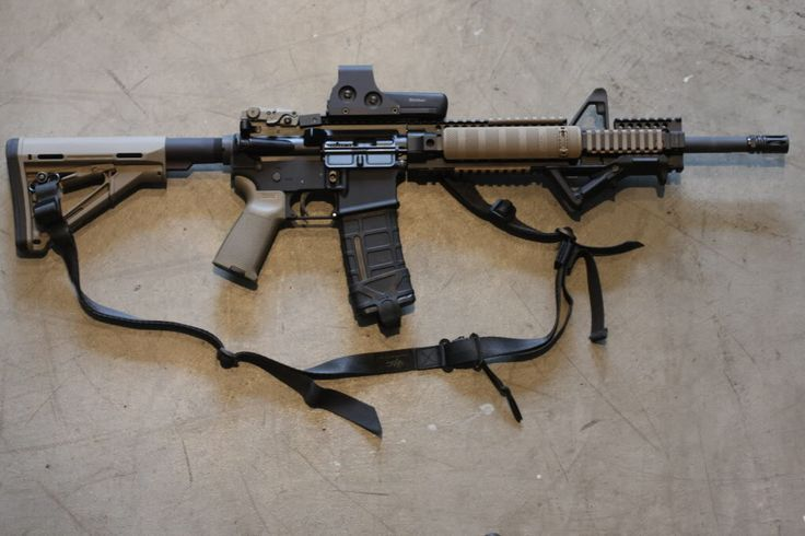AR w/ Daniel Defense Rail