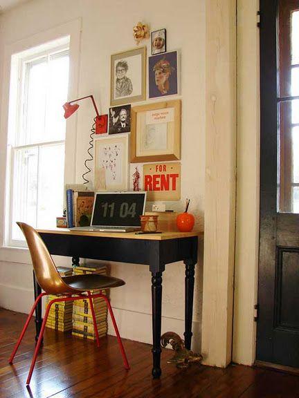 mini office.