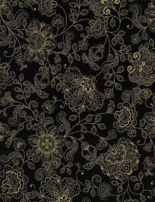Timeless Treasures - Pashmina CM1144-Black
