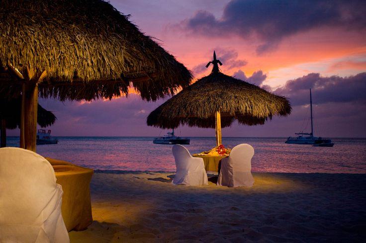 Caribbean Dinner. Explore More at http://blog.ixigo.com/2013/02/12-romantic-escapades-for-your-love.html#