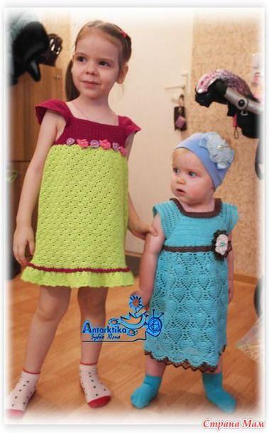 """Платье """"Бабочка Морфо"""". Традиционно много фото )) - Вязание - Страна Мам"""