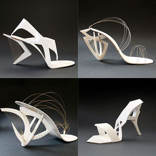 Architecture for Your Feet: 8 Sculptural Shoes Made for Wearing