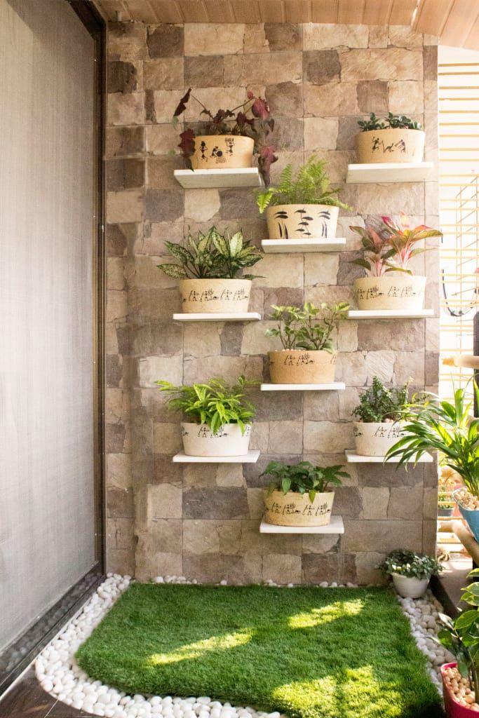 Modern Balcony Veranda Terrace By Homify Modern Small Balcony Decor House Plants Decor Garden Wall Designs