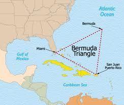 Bermuda driehoek. Daar waar Atlantis gelegen heeft.