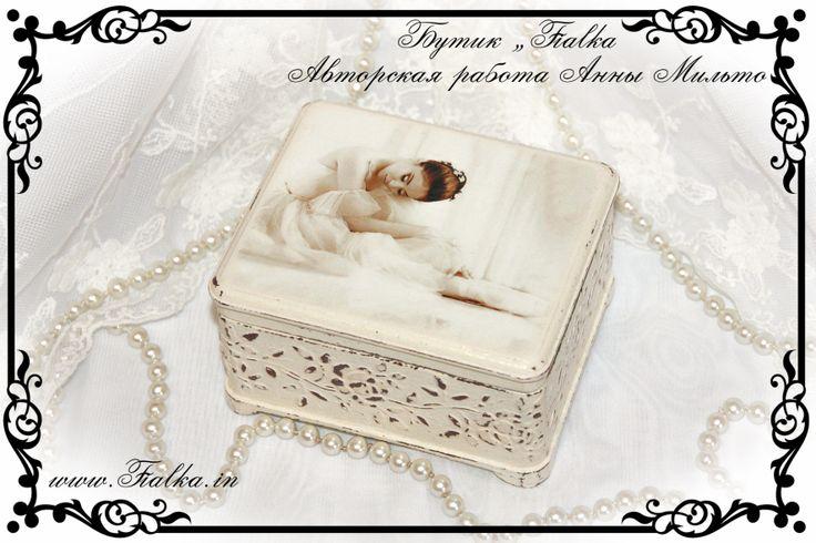 шкатулка, box, decoupage, балет, ballet