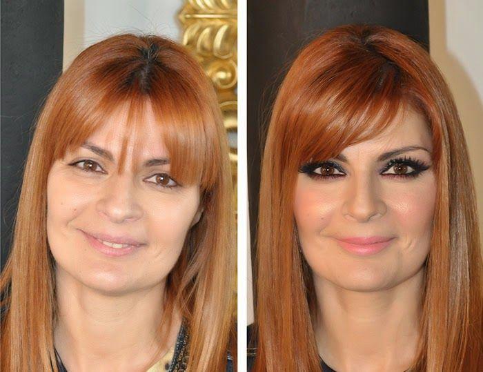 Inês Franco: antes e depois