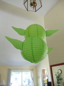 Yoda Paper lantern