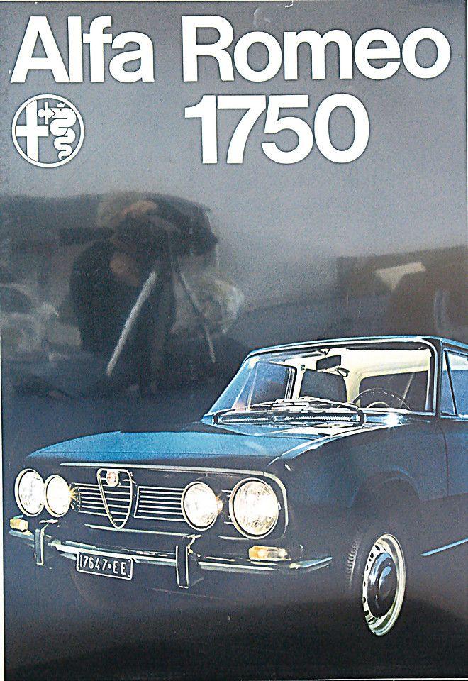 Alfa Romeo 1750 - brochure