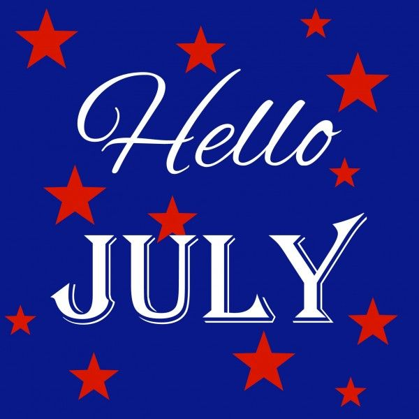 Captivating Hello July! Pictures