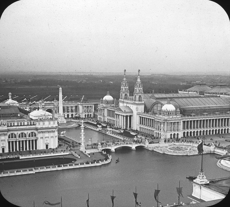 At the 1893 World's Columbian Exposition, Chicago