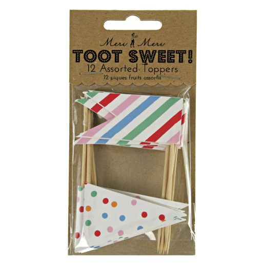 Toot Sweet Party Toppers