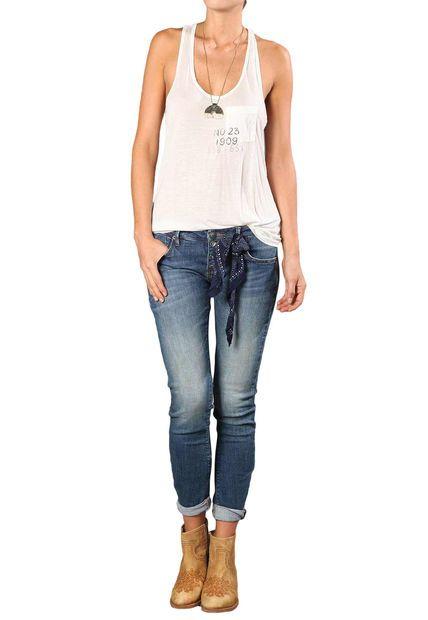 Camiseta tennis TNS Blanco Crudo