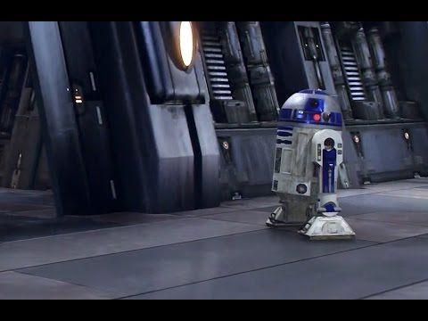 R2-D2 Funny Scene - Star Wars Episode 3: Revenge Of The Sith-(2005) Movie Clip Blu-ray 4K - YouTube