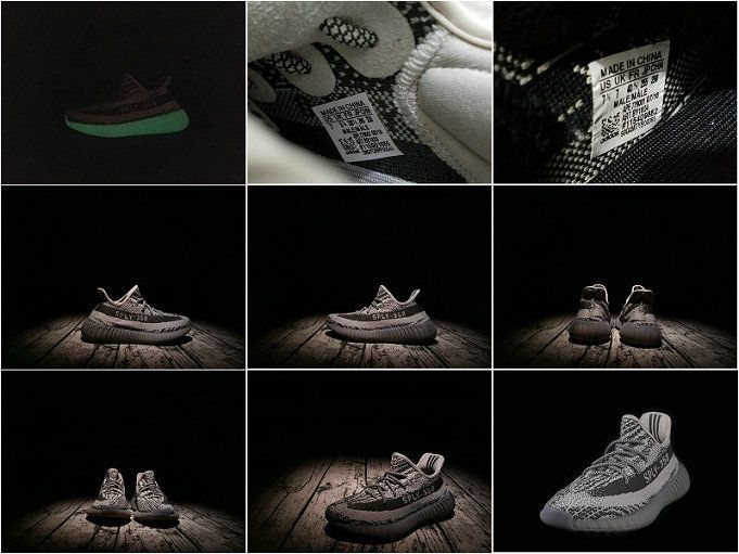 achat 2017 Adidas Yeezy Boost 350 V2 Glow In Dark BB1829 BY1604 Truth Boost  Real Boost Youth Big Boys Sneakers e88095a3e