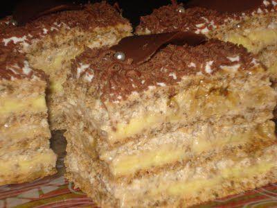 Reteta culinara Desert prajitura Egipteana din categoria Prajituri. Specific Egipt. Cum sa faci Desert prajitura Egipteana