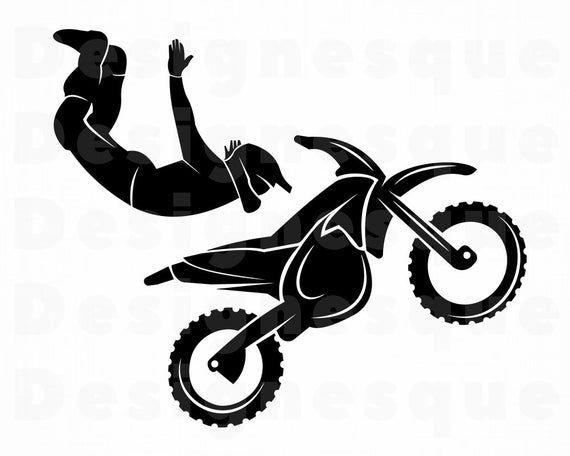 Freestyle Motocross 2 Svg Dirt Bike Svg Stunt Bike Svg Etsy In 2021 Freestyle Motocross Stunt Bike Motocross Boys Room