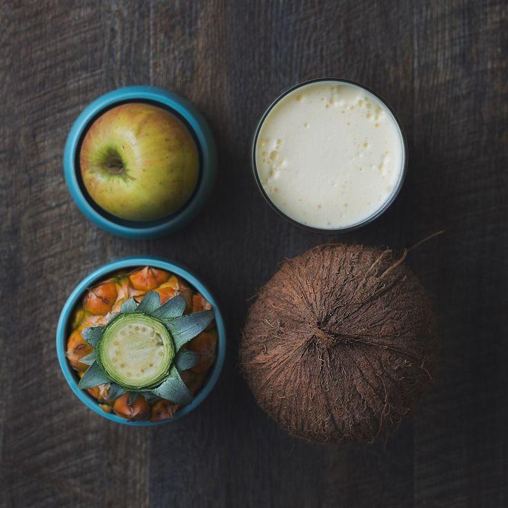 Apple, Pineapple & Coconut Water