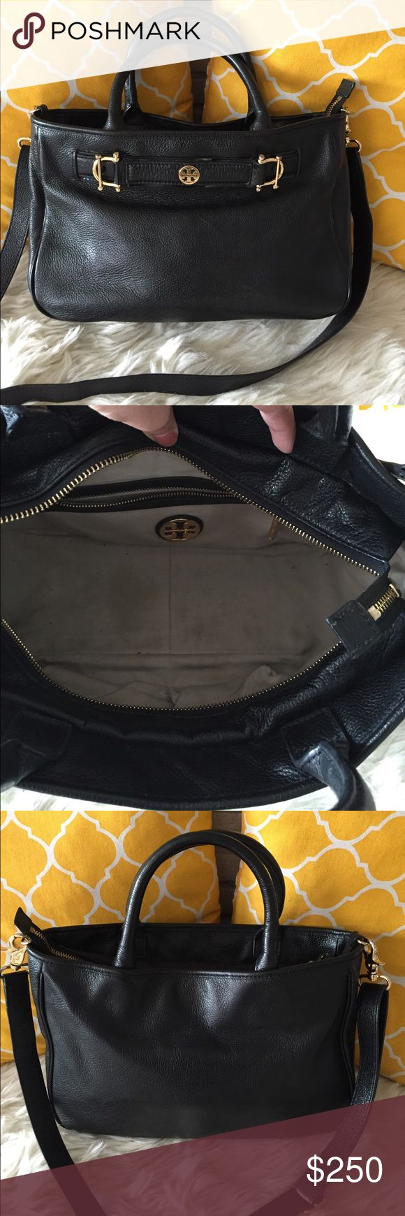 🌸OFFERS?🌸Tory Burch Pebbled Leather Satchel 🌷Authentic🌷 Tory Burch Bags Satchels