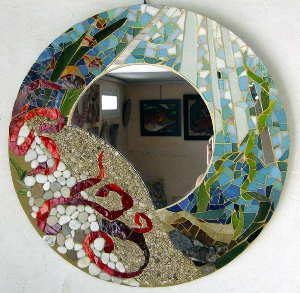 Plus de 25 idées uniques dans la catégorie Miroir mosaique sur ...