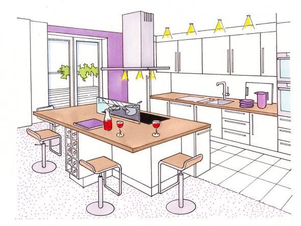 17 mejores ideas sobre Offene Küche Kochinsel en Pinterest
