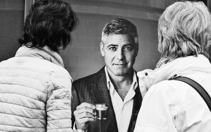 George Clooney is in the house