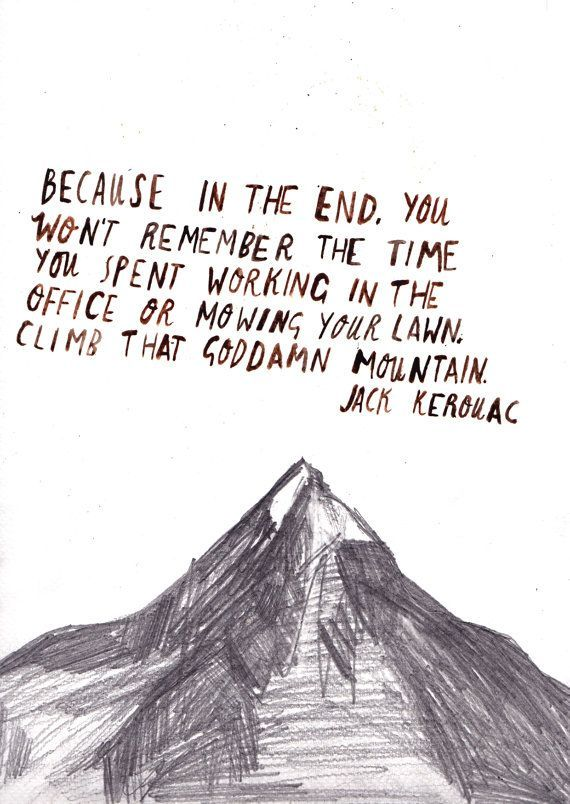 Jack Kerourac Postkarte – i t ´s t r u e