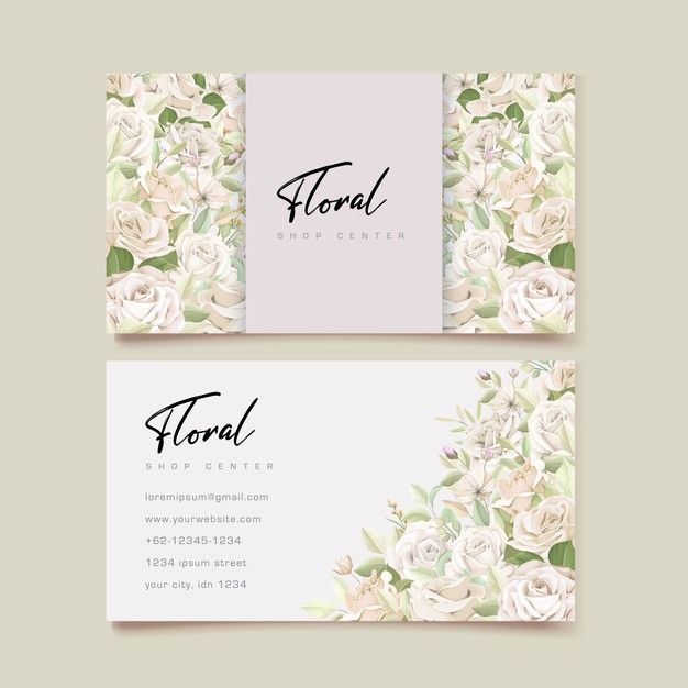 Download Beautiful Roses Business Card Template For Free Floral Business Cards Wedding Card Templates Business Card Red