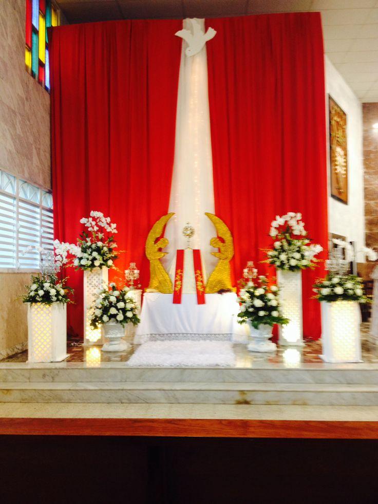 220 best images about semana santa on pinterest altar for Altar decoration