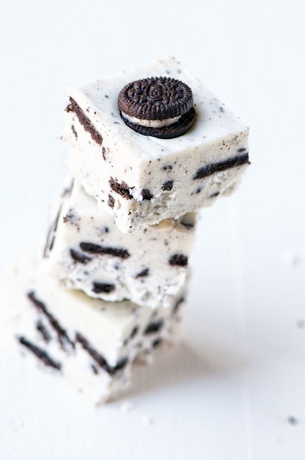 Fudge made from the filling of Oreo's! So much more than your average cookies and cream fudge.