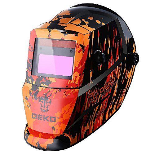 Solar Auto Darkening MIG MMA Electric Welding Mask/Helmet/Welding Lens for Welding Machine(Red). For product info go to:  https://www.caraccessoriesonlinemarket.com/solar-auto-darkening-mig-mma-electric-welding-mask-helmet-welding-lens-for-welding-machinered/