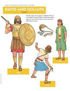 Scripture Figures, David and Goliath
