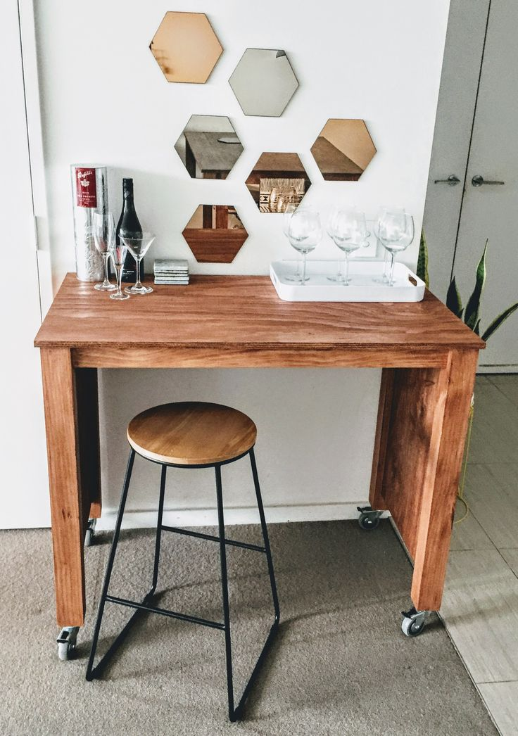 Plywood Custom made Bar station From: @fab.signature